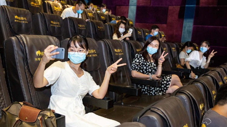 Movie theatres reopen in China