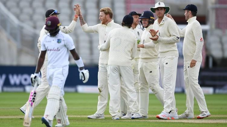england won west indies