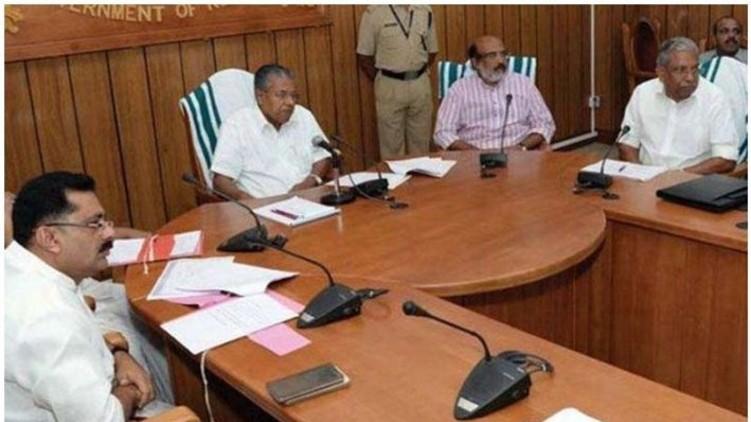 pinarayi vijayan cabinet decisions