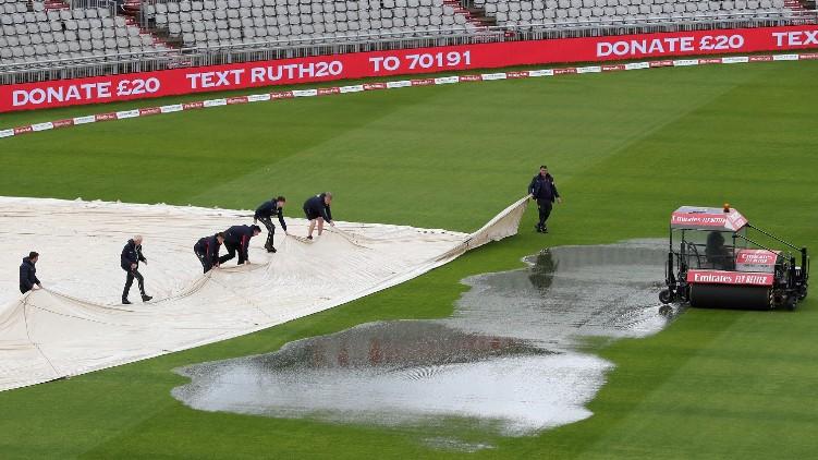 england west indies rain
