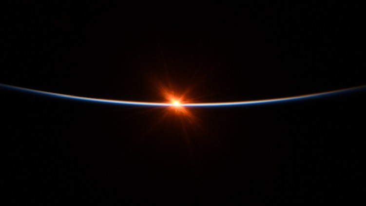 Sunrise From Space images