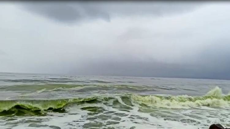 secret behind green waves