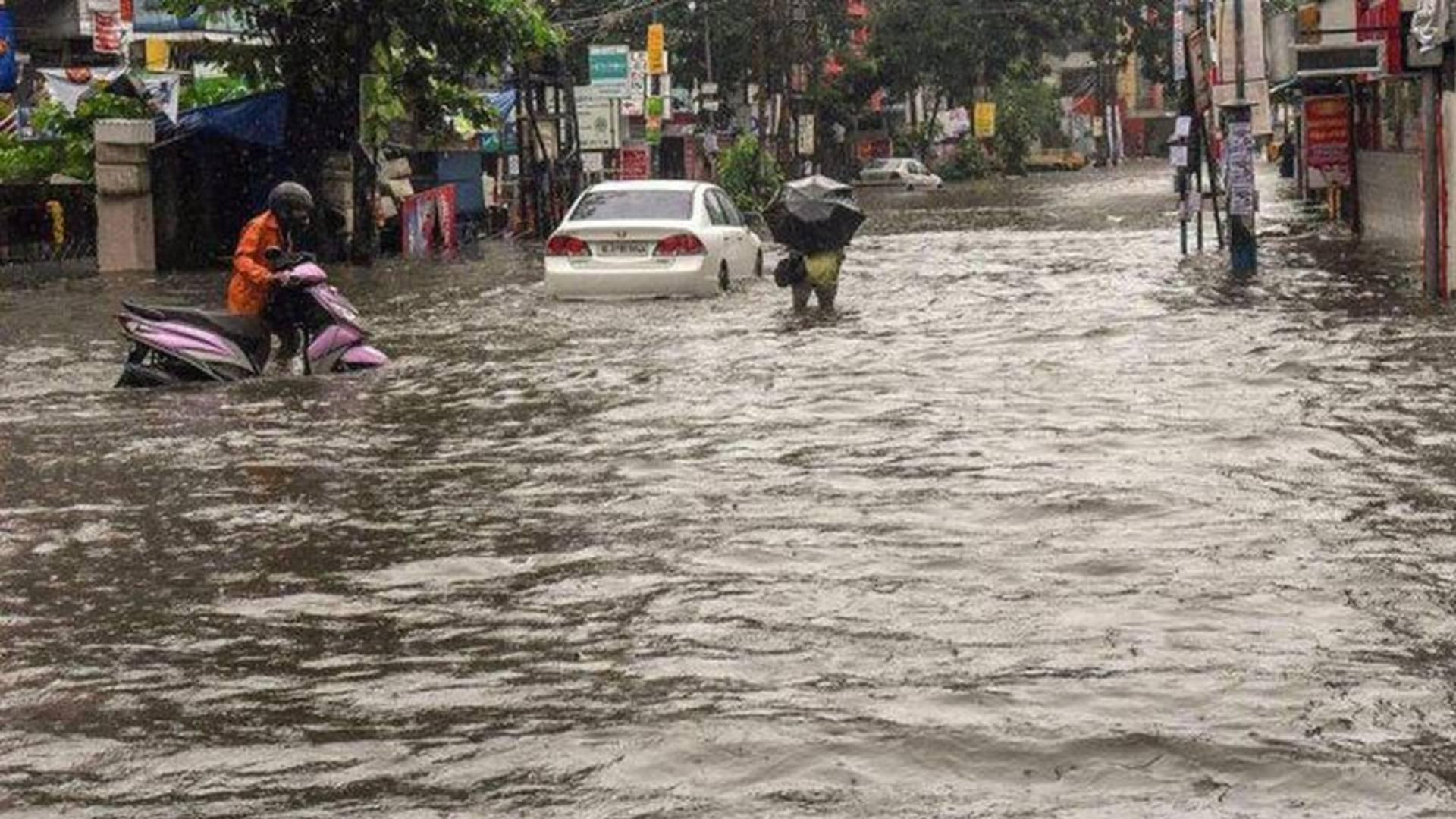 heavy rain in ekm 8 camps opened