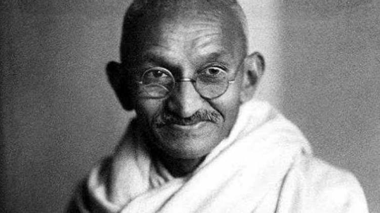mahatma gandhi photo used in British currency