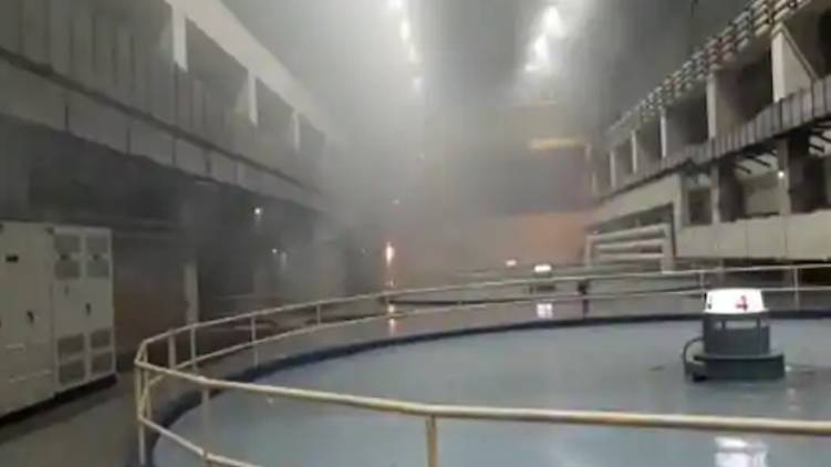 Fire at Srisailam power station in Telangana