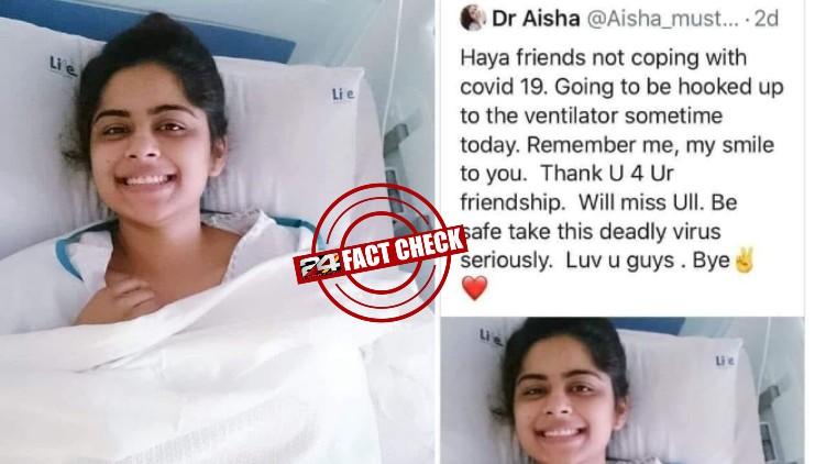 dr aisha fake news