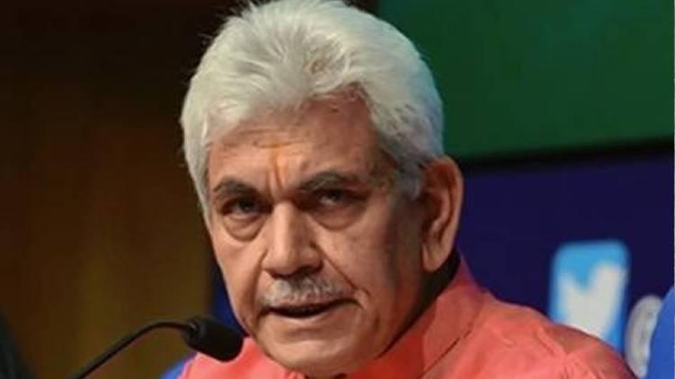 Manoj Sinha new Lieutenant Governor of Jammu and Kashmir