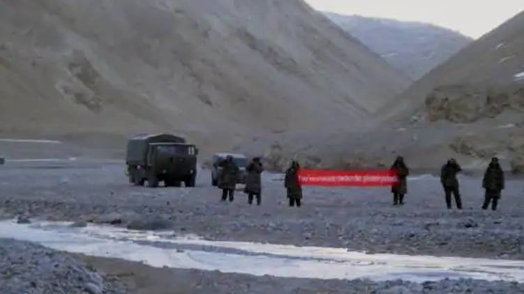 Chinese incursion in Ladakh border; document removed from site