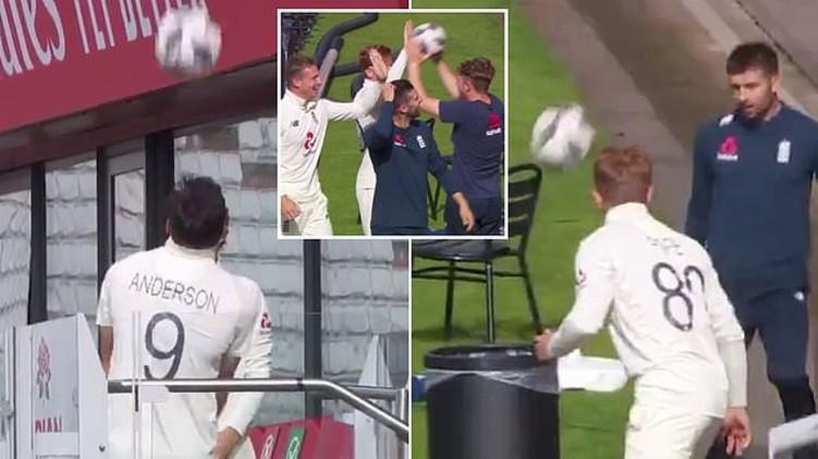 England cricket football skills