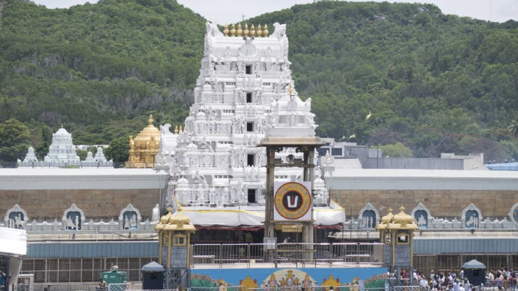 743 Tirupati temple Covid-19