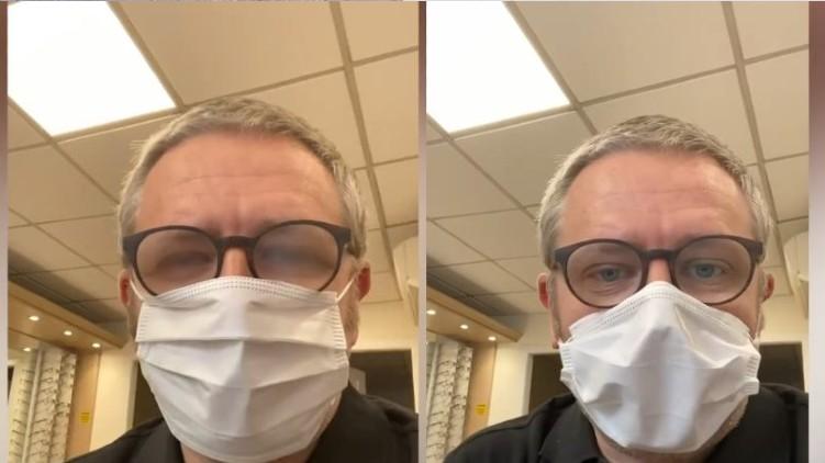 Doctor Glasses Fogging Mask