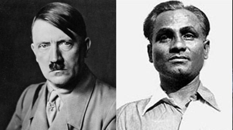dhyan Chand Adolf Hitler