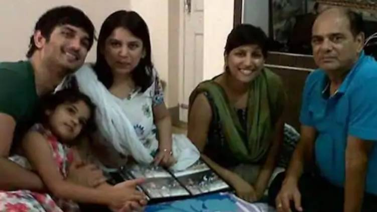threatening through messages; Sushant's family