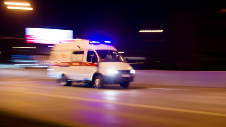ambulance driver paralysed patient