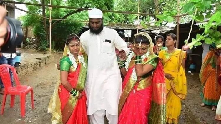 Muslim Man Hindu Sisters