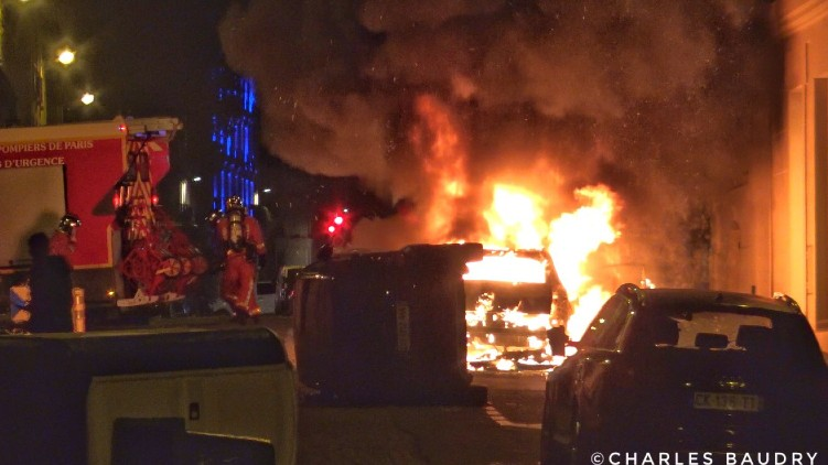 Riots Paris PSG Loss