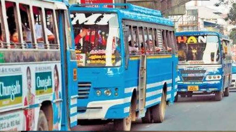 private buses kerala