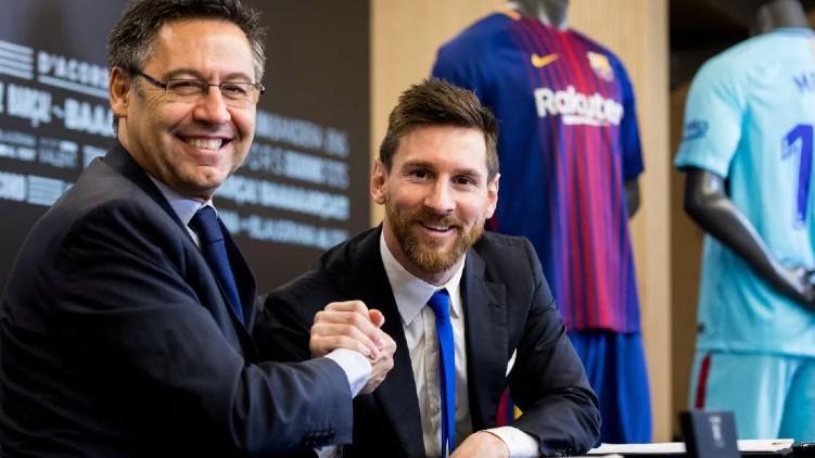 Bartomeu Resign Messi Stays