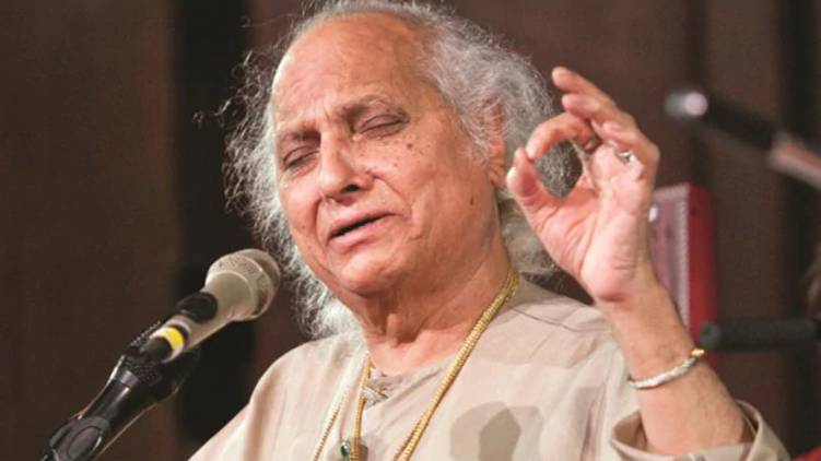 President and PM expressed their condolences on the death of Pandit Jasraj