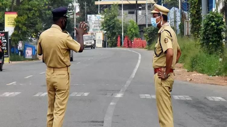 kerala police covid