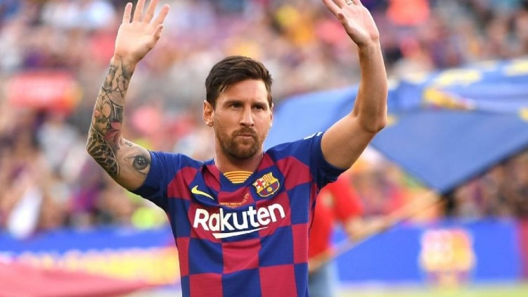Messi Barcelona leaving contract