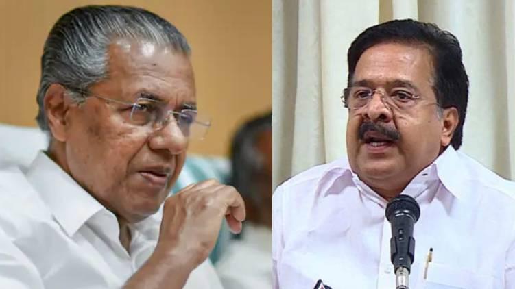 cm pinarayi vijayan and ramesh chennithala