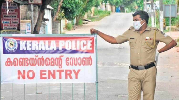 containment zone kerala
