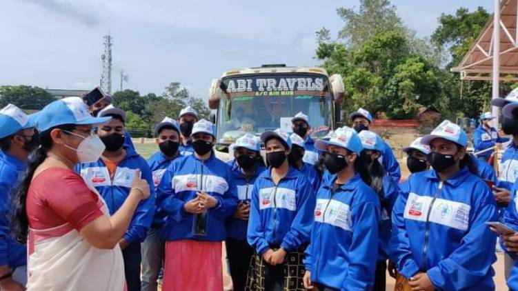 covid brigade set out to kasargod