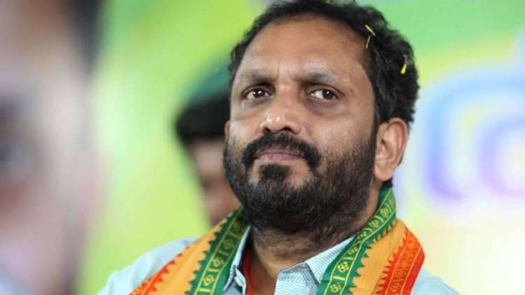 k surendran begins hunger strike