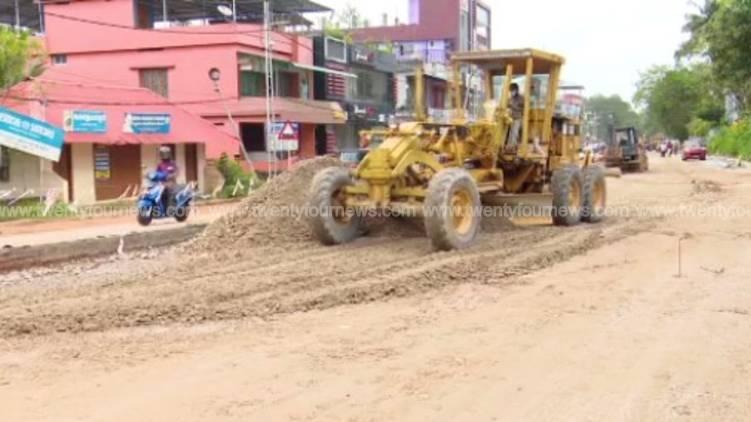 minister g sudhakaran orders probe on attingal national highway