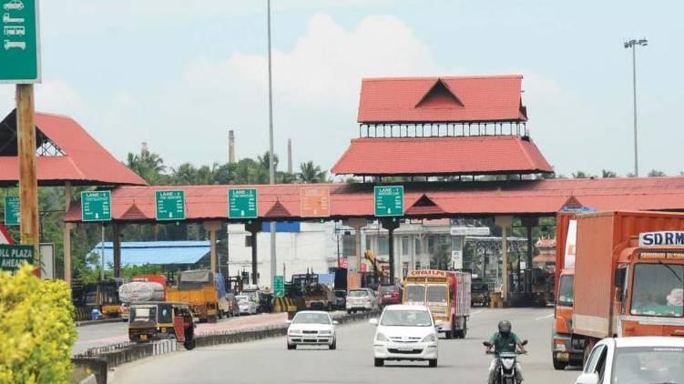paliyekkara toll plaza toll increased