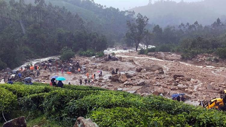 pettimudi landslide death toll touches 50