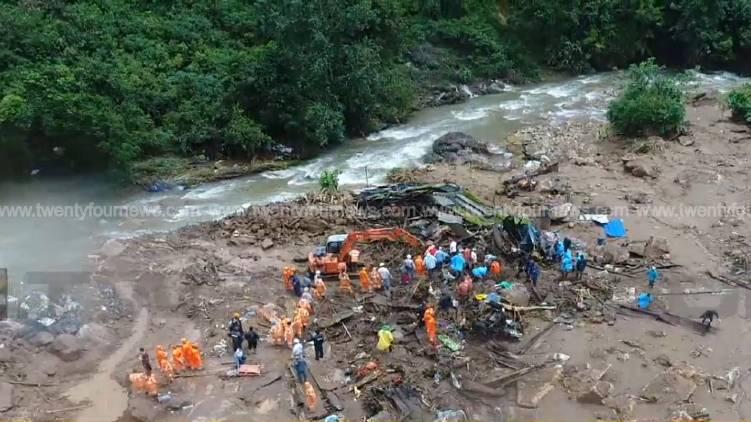 pettimudi landslide rescue continues third day