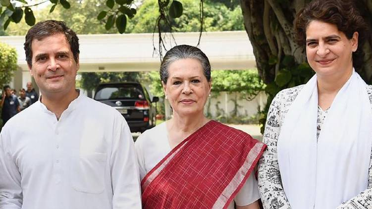 rahul brigade plays game to make congress president post sole property of gandhi family