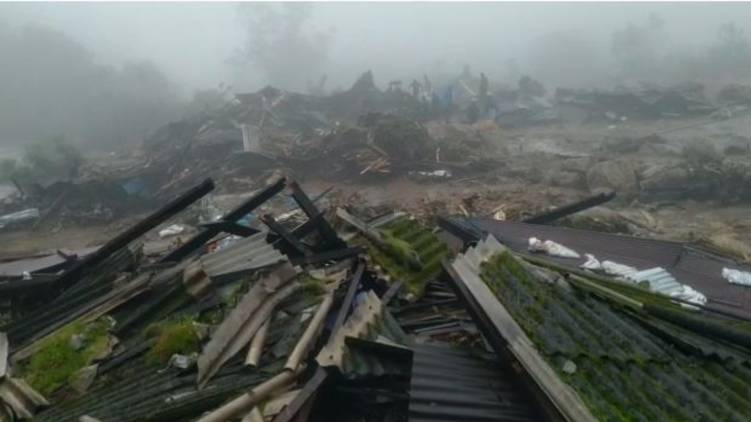rajamala landslide 5 dead