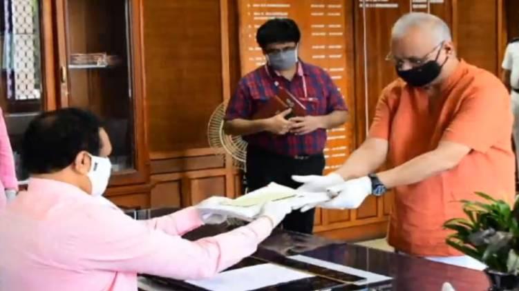 rajya sabha election nomination filed