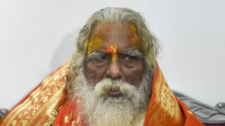 ram temple trust head tests covid positive