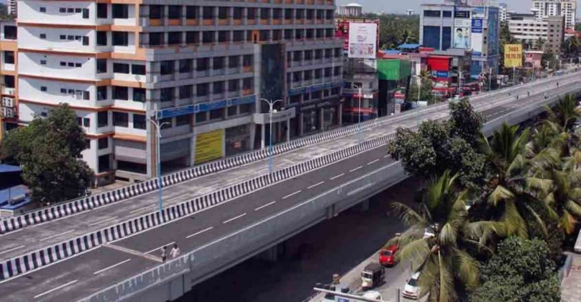 palarivattom over bridge DMRC builds for free