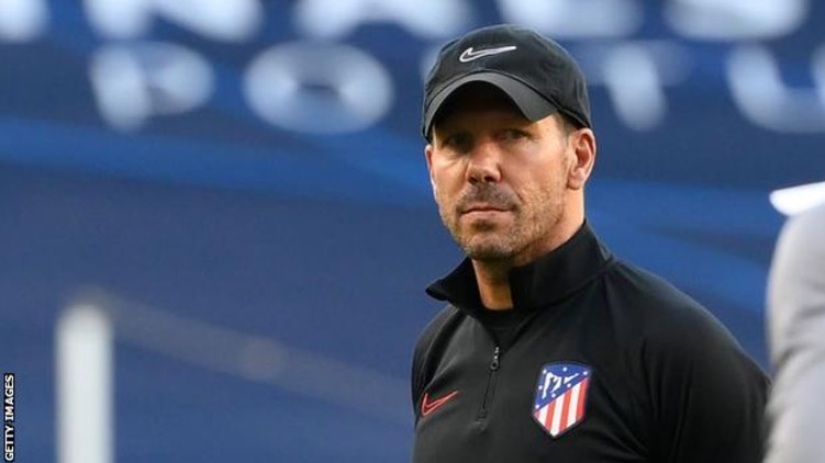 Atletico Madrid Simeone coronavirus