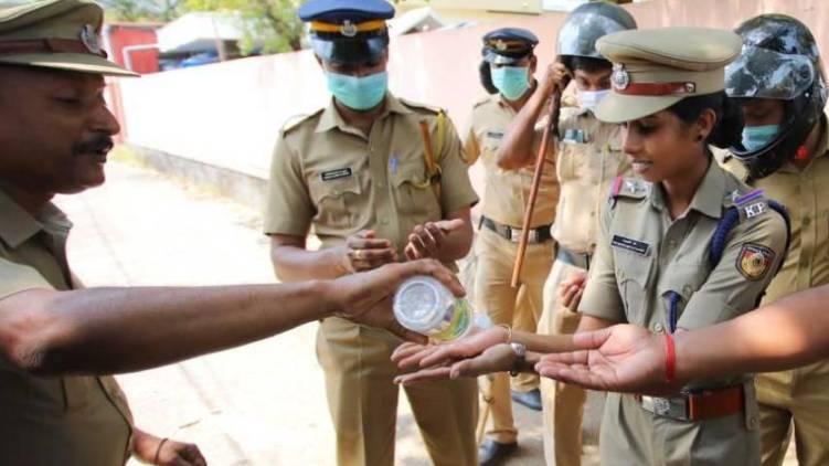 police covid