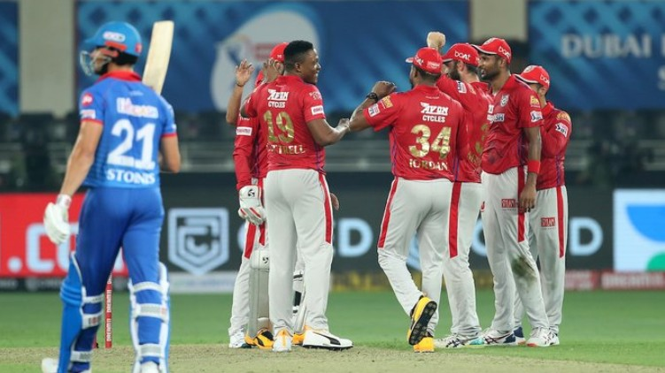 dc kxip first innings
