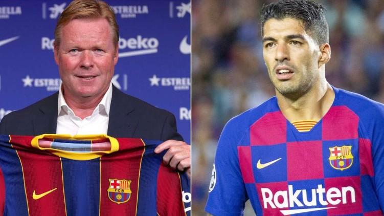 Koeman blame Barcelona Suarez
