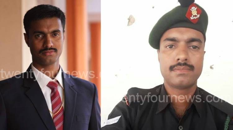 malayali soldier died in pak shell attack