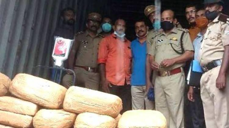 attingal ganja case thiruvananthapuram dealings done by jayan