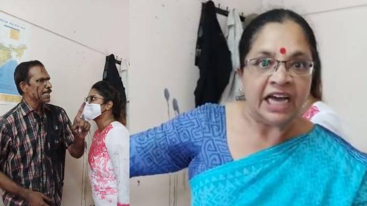 bhagyalakshmi protest against vijay