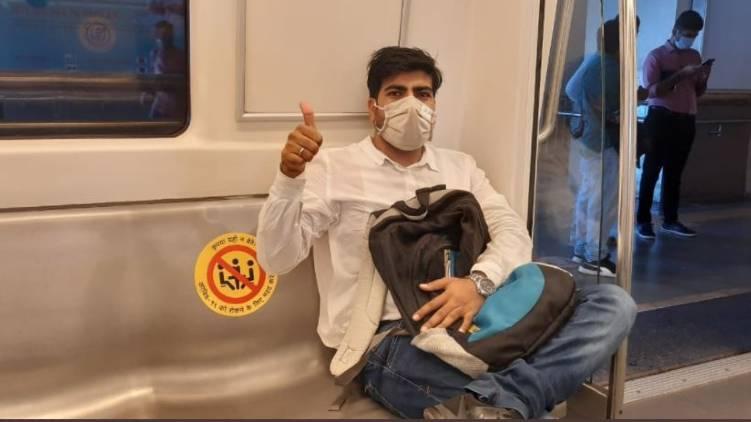india resumes metro services