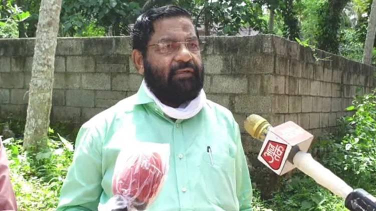 kadakampally surendran on abhijith covid test