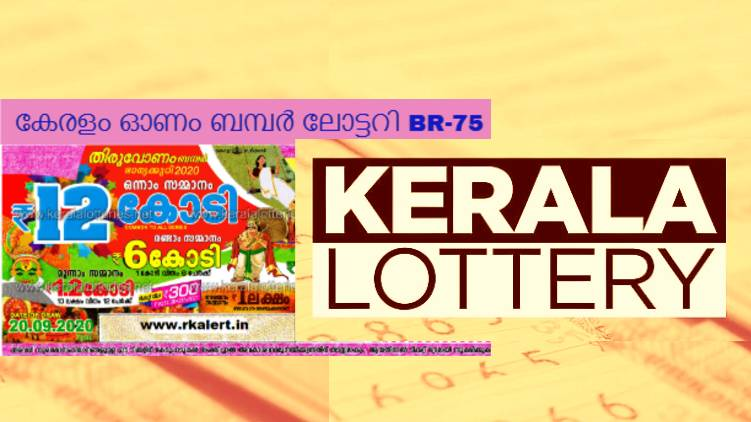 kerala lottery results 2020