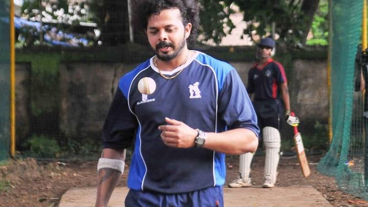 sreesanth comeback to crease