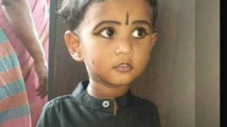 vaikom two year old drowned